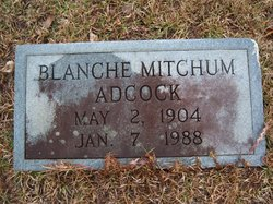 Virginia Blanche <i>East</i> Adcock