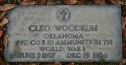 Cleo Woodrum