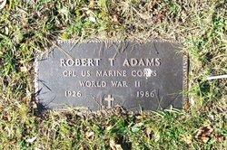 Corp Robert T Adams