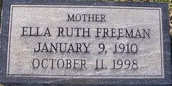 Ella Ruth <i>Haines</i> Freeman