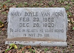 Mary Celestia <i>Boyle</i> Van Horn