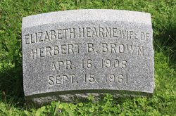 Elizabeth <i>Hearne</i> Brown