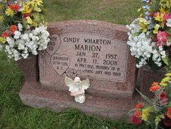 Cindy <i>Wharton</i> Marion