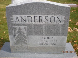 Brent D Anderson