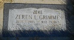 Zeren L Zeke Grimme