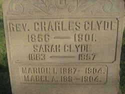Rev Charles Clyde