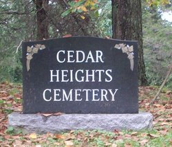 Cedar Heights Cemetery