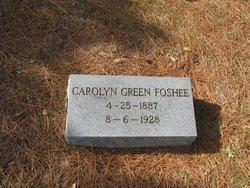 Carolyn Elizabeth <i>(Green)</i> Foshee