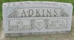 Mary A <i>Sloas</i> Adkins