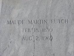 Maude E. <i>Martin</i> Futch