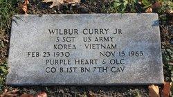 Sgt Wilbur Curry, Jr