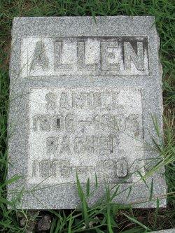 Rachel <i>Hall</i> Allen