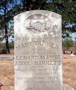 Alice Mary <i>Maples</i> Parker
