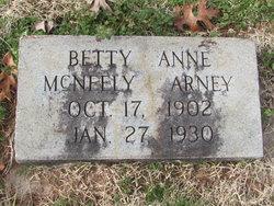 Bettie Anne <i>McNeely</i> Arney