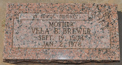Vela B. Brewer