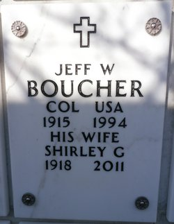 Jeff W Boucher