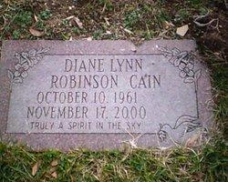 Dianne Lynn <i>Robinson</i> Cain