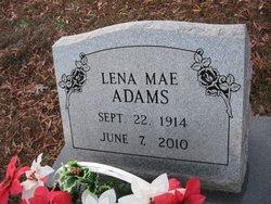 Lena Mae Adams