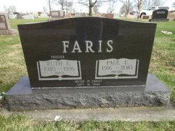 Ruth Ellen <i>Prosser</i> Faris
