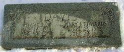 Mary Jane <i>Edwards</i> Davis