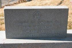 James William Adams, Sr