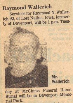 Raymond N Wallerich