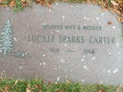 Lucille <i>Sparks</i> Carter