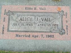 Alice J Vail