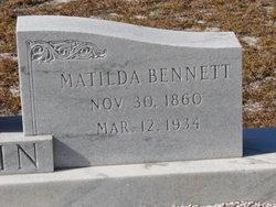 Susan Matilda <i>Bennett</i> Hagin