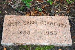 Mary Isabel <i>Huff</i> Crawford