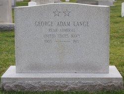 Adm George Adam Lange