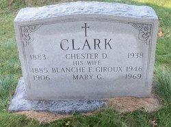Mary G Clark
