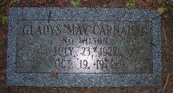 Gladys May <i>Wilson</i> Carnahan