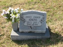 Janice <i>Zimmer</i> Adkins