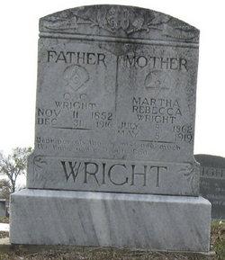 Martha Rebecca <i>Ellisor</i> Wright
