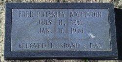 Fred Pressley Boyleston