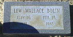Luther Wallace Lew Bolin