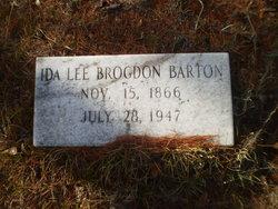 Ida Lee <i>Brogdon</i> Barton