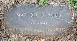 Marion B Robb