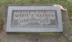 Maria Francis <i>Koontz</i> Barnes