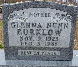 Glenna M. <i>Nunn</i> Burklow