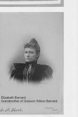Elizabeth Ann(?) <i>GAYLOR</i> BARNARD