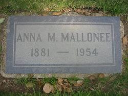 Anna Marie <i>Wille</i> Mallonee