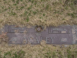 Myrtle M. Acaley