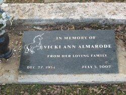Vicki Ann <i>Helgeson</i> Almarode