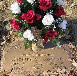 Christina Marie Christy Lamaine