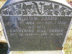 Catherine <i>Hill</i> Adams