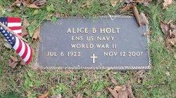 Alice B. Holt