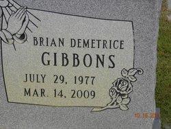 Brian Demetrice Gibbons
