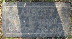 Bessie S Abbott